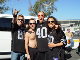 Oakland 2003 - raiders Gig